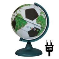 Globe Gift Football Globe Backlit