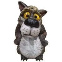 "Remeko / Decorative figure ""Wolf"" L37W38H55cm"