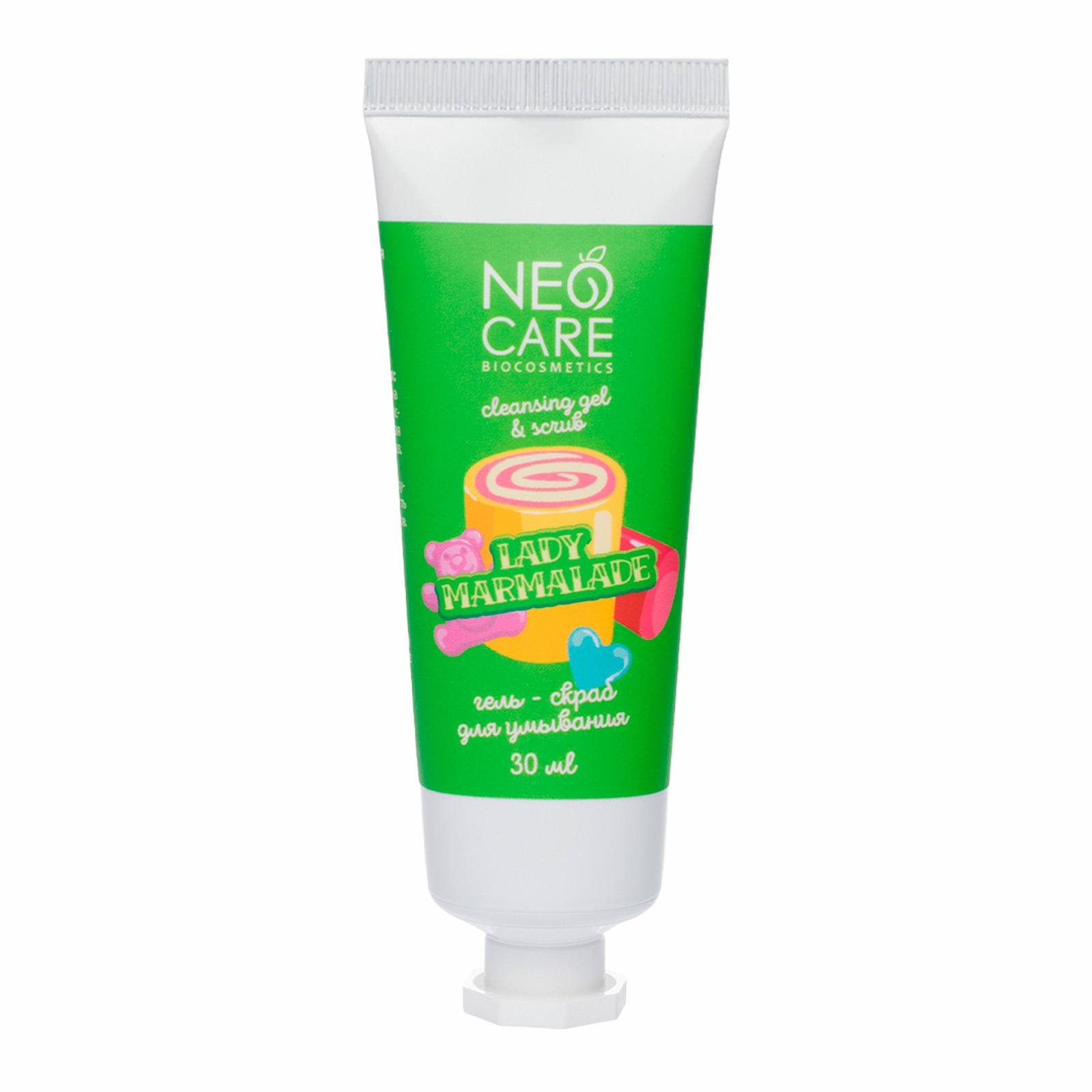 Gel-scrub for washing Lady marmalade Neo Care, 30 ml