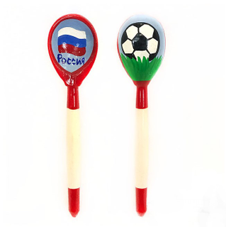 "Spoon wooden tea ""Football"""