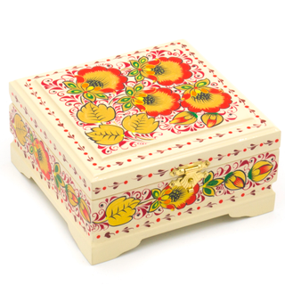 """The box """"flower meadow"""" is wooden 120х115"""