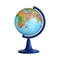 Earth Globe Geographical