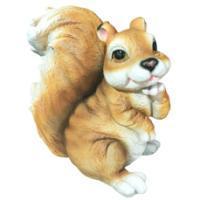 "Remeko / Ornamental garden figure ""Squirrel"" L19H29H33cm"
