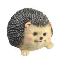 "Remeko / Decorative figure ""Happy hedgehog"" L15W12H9"