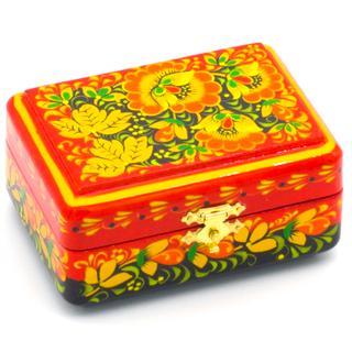 The box is wooden 90х70