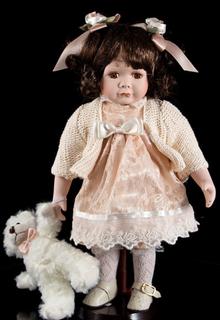 """Porcelain doll """"Sofia"""""""