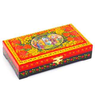 The box is wooden 180х100