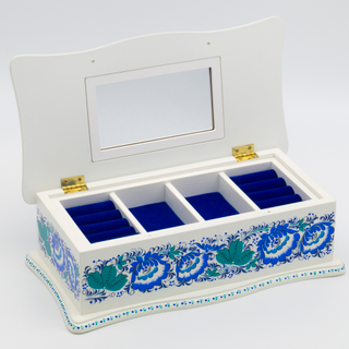 """The box """"Winter Hohloma"""" is wooden 290х140"""