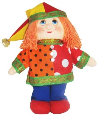 "Gift workshop / Small textile doll ""Petrushka"""