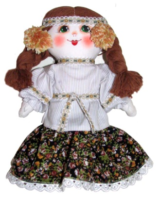 "Gift workshop / Textile doll ""Anyuta"""