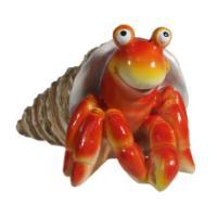 "Remeko / Decorative figure ""Hermit crab"" (red) L20W25H15"