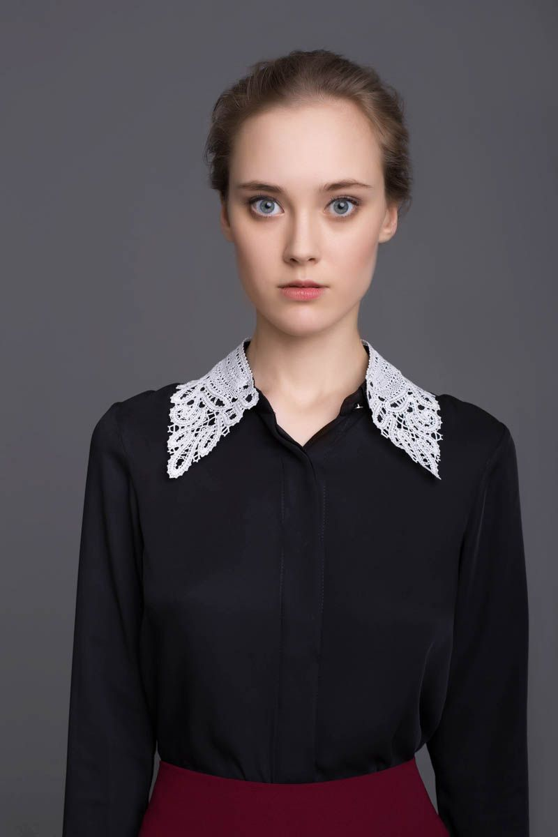 Lace shirt collar #20