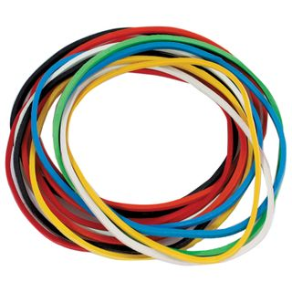 Universal bank rubber bands with a diameter of 60 mm, STAFF 100 g, colored, natural rubber