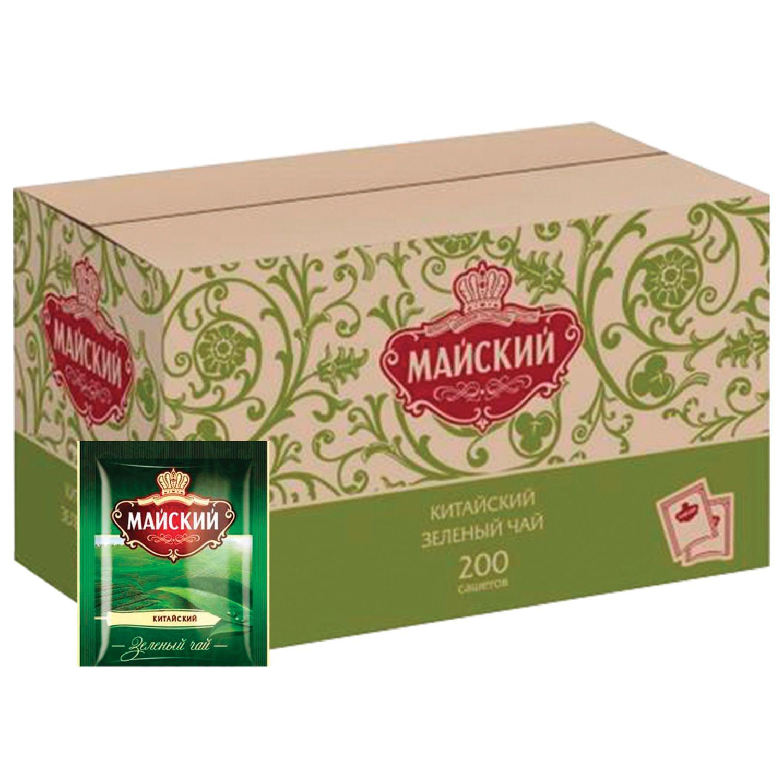 MAY / Green tea, 200 sachets in envelopes of 2 g