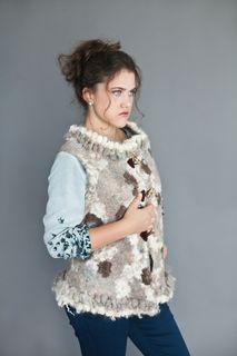 "Vest ""Curly"" merino wool"