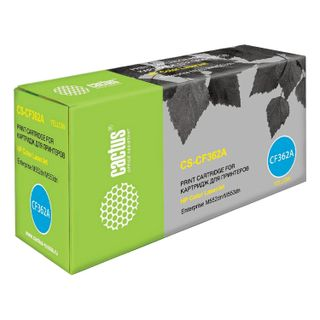 Toner Cartridge CACTUS (CS-CF362A) for HP LaserJet Pro M552dn / M553dn / M553n, yellow, yield 5000 pages