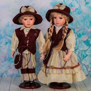 "Dolls porcelain ""Dutch"""