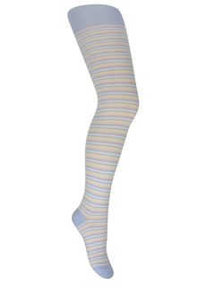 Smooth tights striped