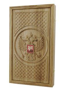 Backgammon Russia, oak