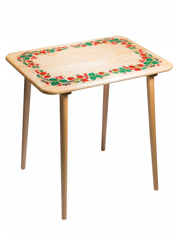 Table, wooden, cold-painted, life-size 3 category