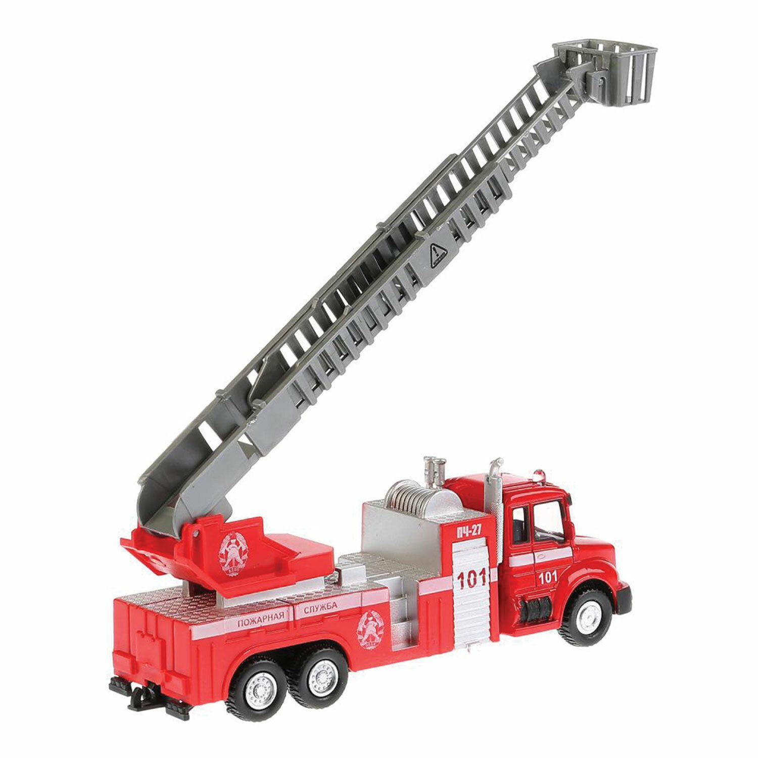 """The machine is a metal """"FIRE MACHINE"""", 15.5 cm, inertial, mobile elements, TECHNOPARK"""