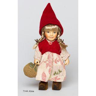 Birgitte Frigast / Porcelain doll Alma, 22 cm