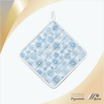 Quilted potholder grace