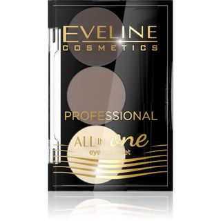 Professional set for styling and eyebrow - kit No. 1 series of all in one, Eveline