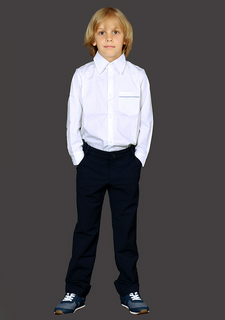 Shirt for boy white
