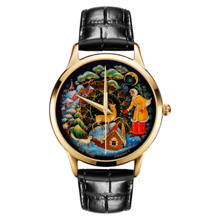 "Palekh watch ""Silver Hoof №39"