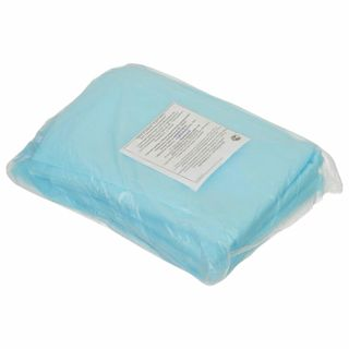 HEXA / Non-sterile disposable sheets, set of 5 pcs. 140x200 cm, spunbond 25 g / m2, blue