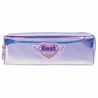 Pencil case-cosmetic bag INLANDIA, soft, translucent