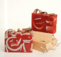 Morocco whetstone 500 g - handmade soap with creamy gingerbread aroma