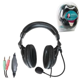 DEFENDER / Headphones with microphone (headset) HN-898, wired, 3 m, stereo with headband, volume control