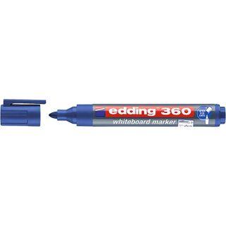 Edding / Whiteboard marker, round nib, 1.5-3mm Blue