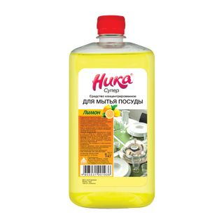 "Dishwashing liquid 1 kg, NIKA ""Super"", concentrate"
