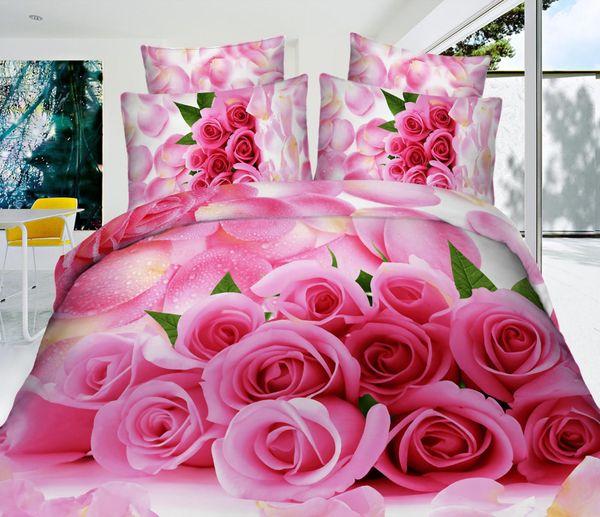 Satin bed linen 3D Fragrance