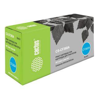 Toner Cartridge CACTUS (CS-CF360A) for HP LaserJet Pro M552dn / M553dn / M553n, black, yield 6000 pages