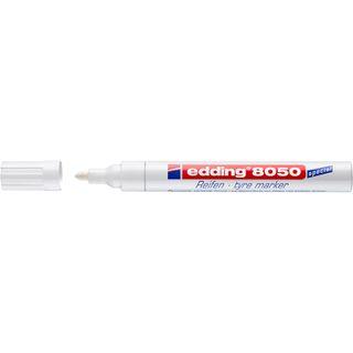 Edding / Tire & Rubber Marker, Round Tip, 2-4mm White