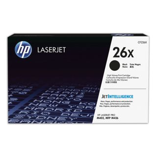 HP (CF226X) LaserJet Pro M402d / n / dn / dw / 426dw / fdw / fdn toner cartridge, # 26X, original, increased yield 9000 pages