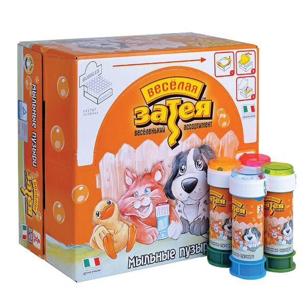 Animals soap bubbles, 60 ml, (Italy)