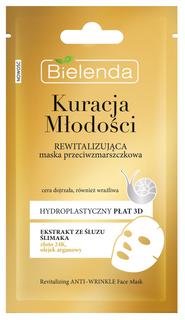 Revitalizing mask anti wrinkle, BIELENDA YOUTH THERAPY, 23 g