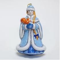 Snow Maiden (flat) - Christmas tree toy