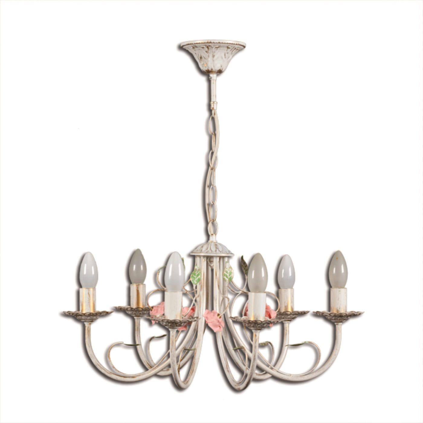 PETRASVET / Pendant chandelier S1017-6, 6xE14 max. 60W