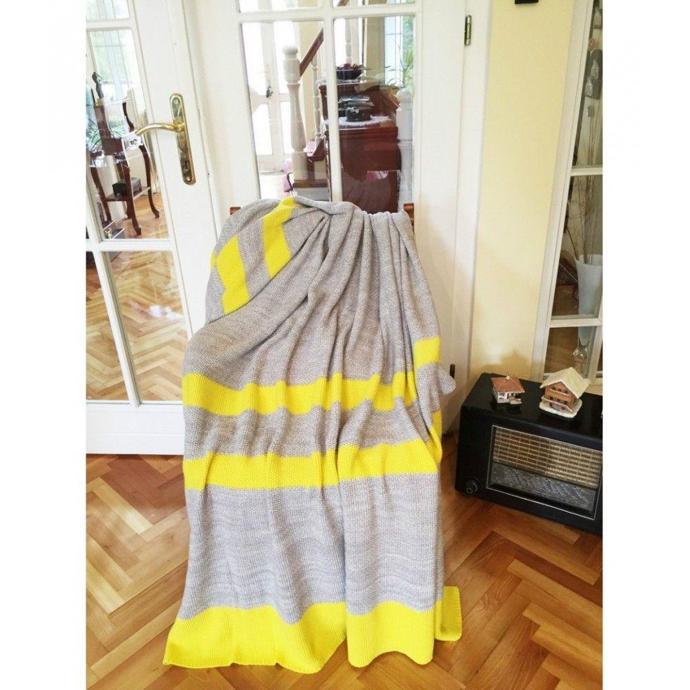 "Blanket cotton ""Luna 05"" Textil"