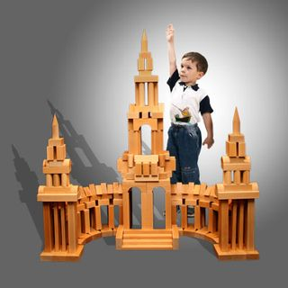 """DESIGNER OUTDOOR oversized """"St. Petersburg 2"""" varnish 256 parts (8 boxes) for children from 3 years"""