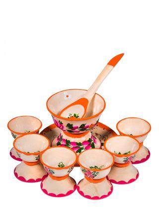 Set of dishes for dolls Ogonek