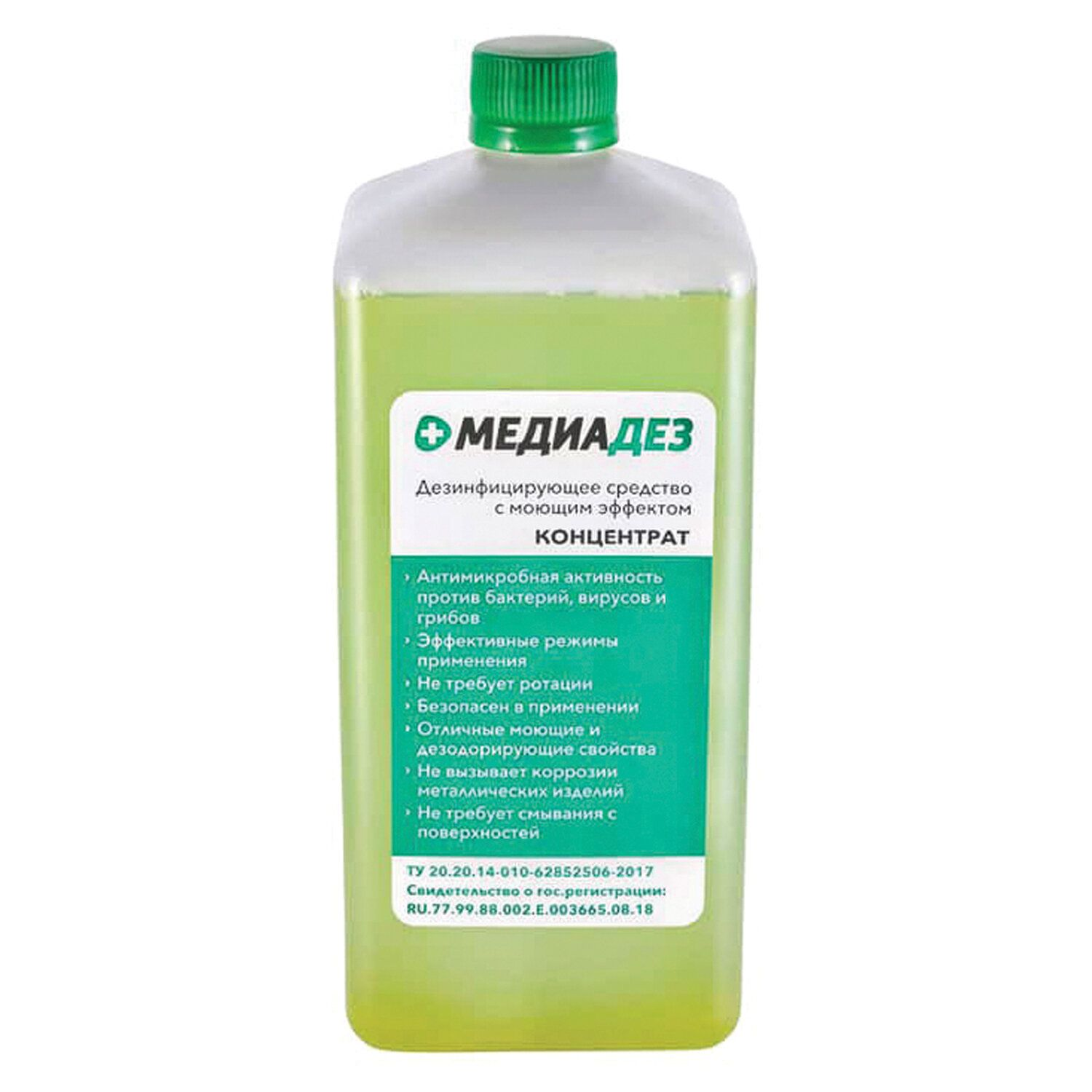 MEDIADEZ / Disinfectant 1 l concentrate, lid
