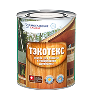 """Composition for protection and toning of wood """"TEKOTEKS"""""""