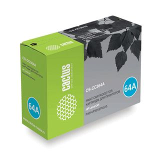 Toner cartridge CACTUS (CS-CC364A) for HP LaserJet P4014 / P4015 / P4515, yield 10,000 pages